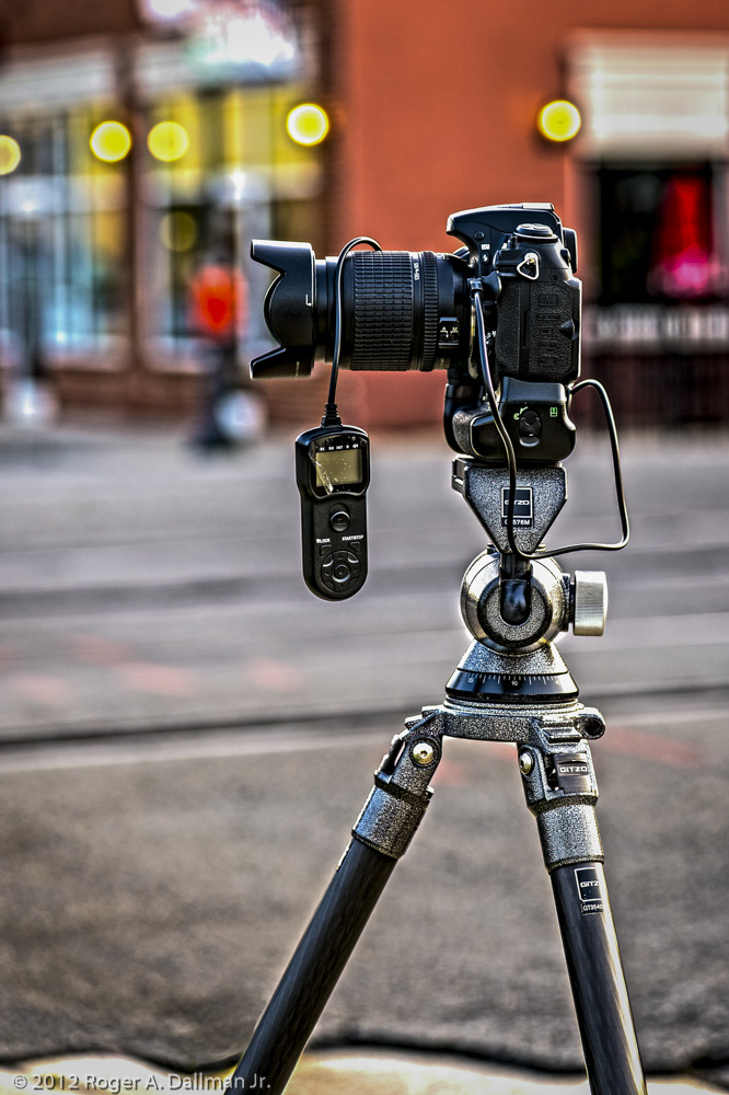 A good tripod is vital for extra sharpness