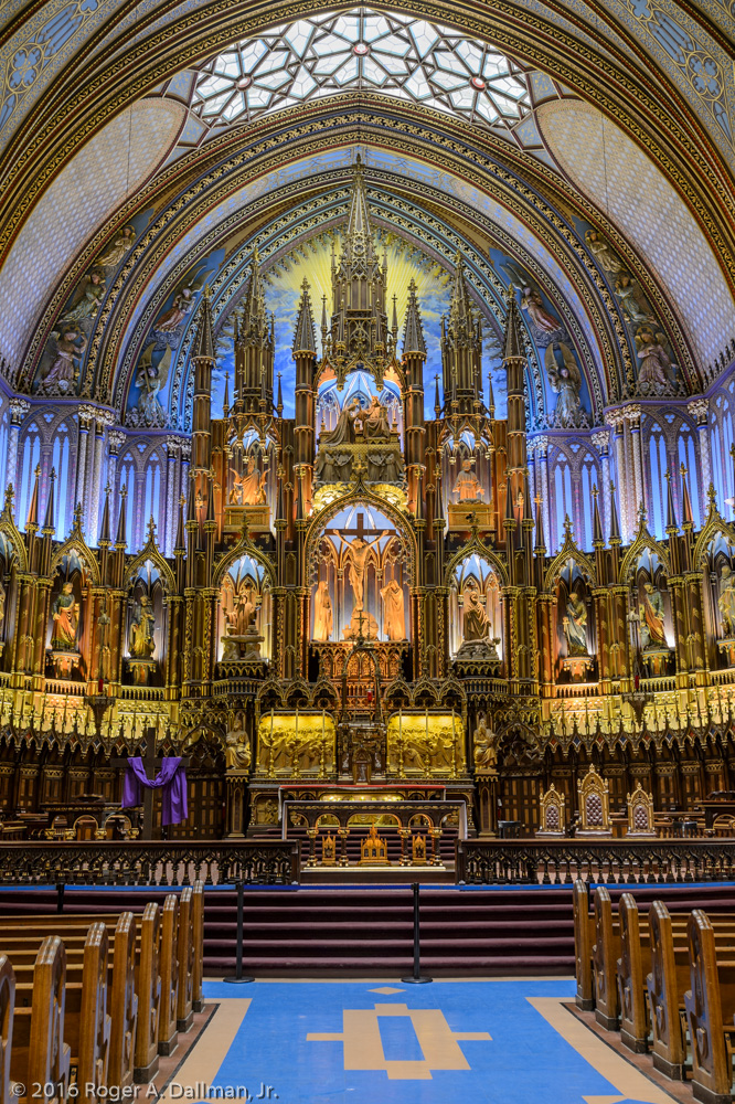 Notre Dame Basilica, Montreal, 2.5 seconds