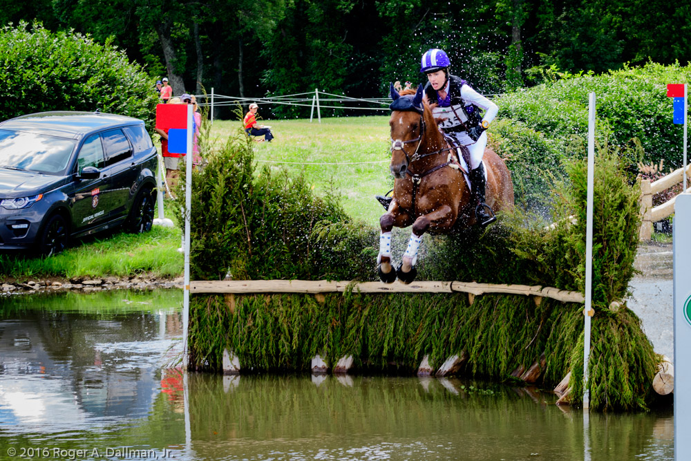Holly Payne Caravella, USA, and a different angle on the pond