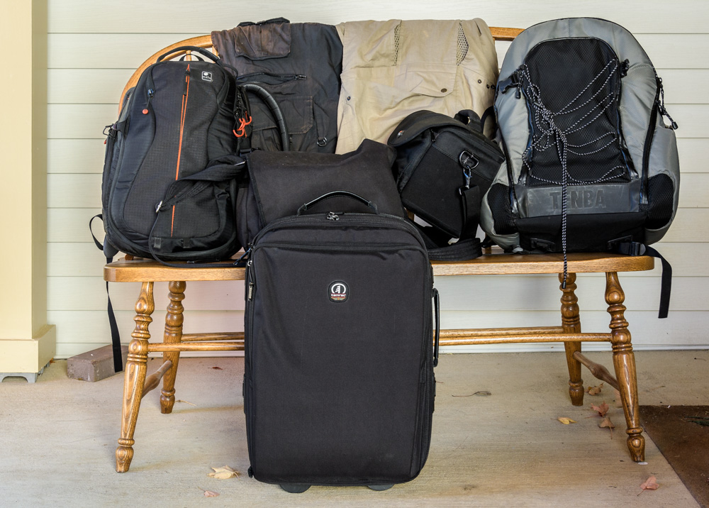 Tools for the road: camera bags and vests