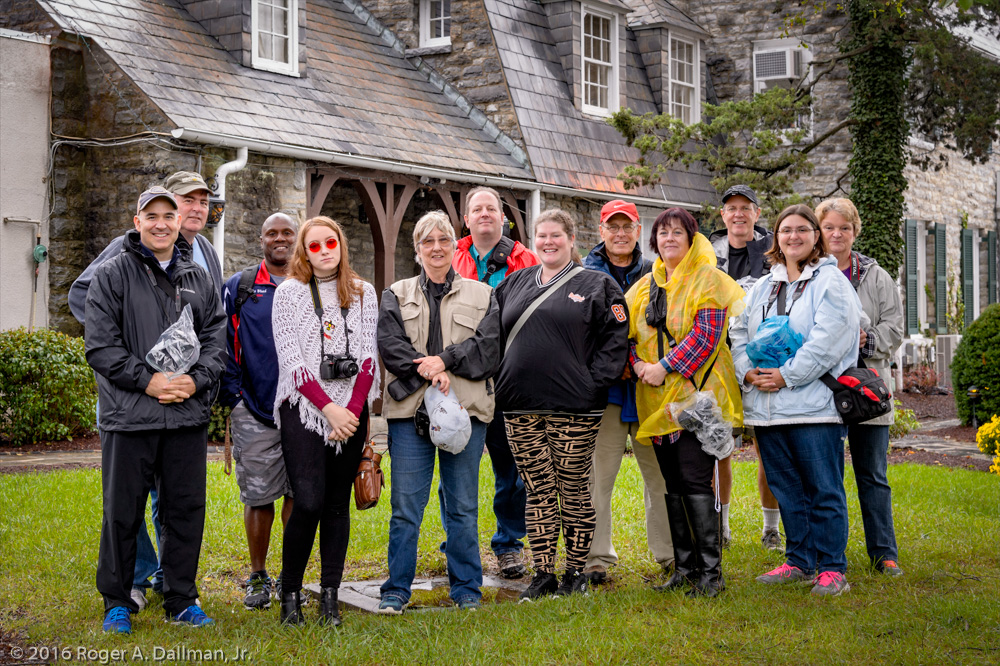 Last year's photowalk crew, in Shepherdstown, WV
