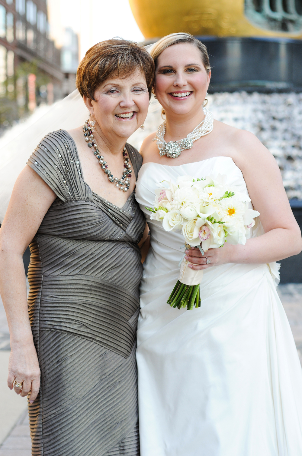 My Mom and I at our last and most special event together.  10.7.11