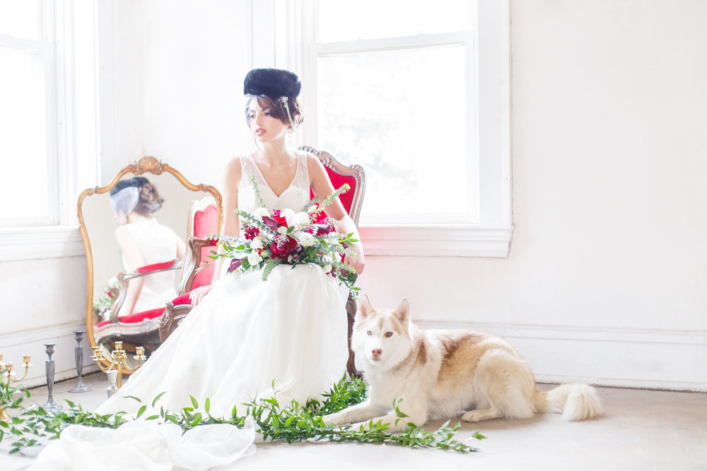 Russian Themed Shoot with La Candella Weddings and Everistta Bridal