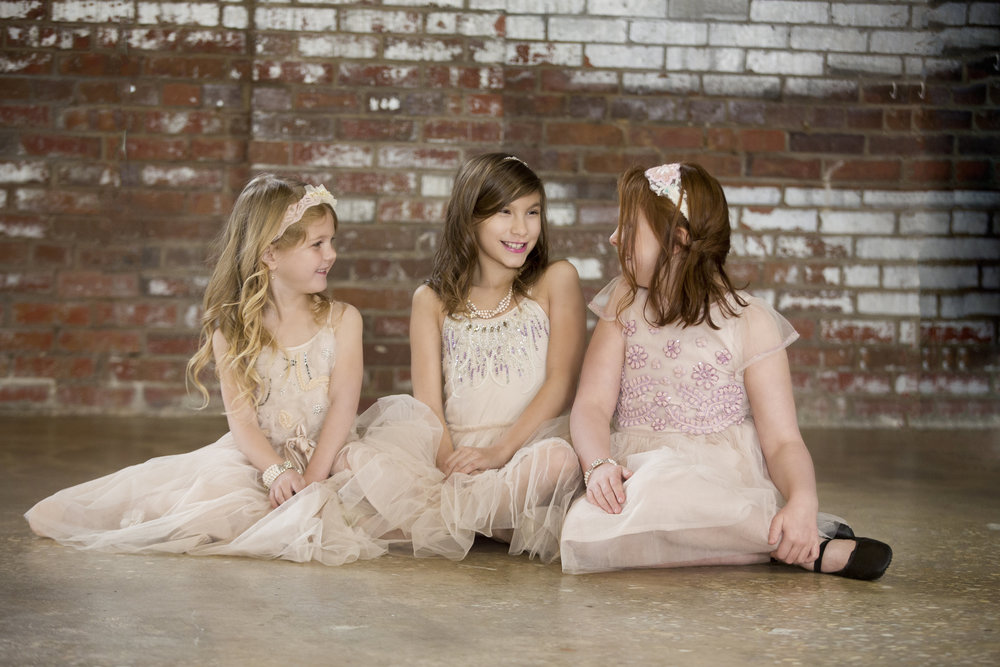 Flower Girl Styled Shoot with TSM Photography and Everistta Bridal