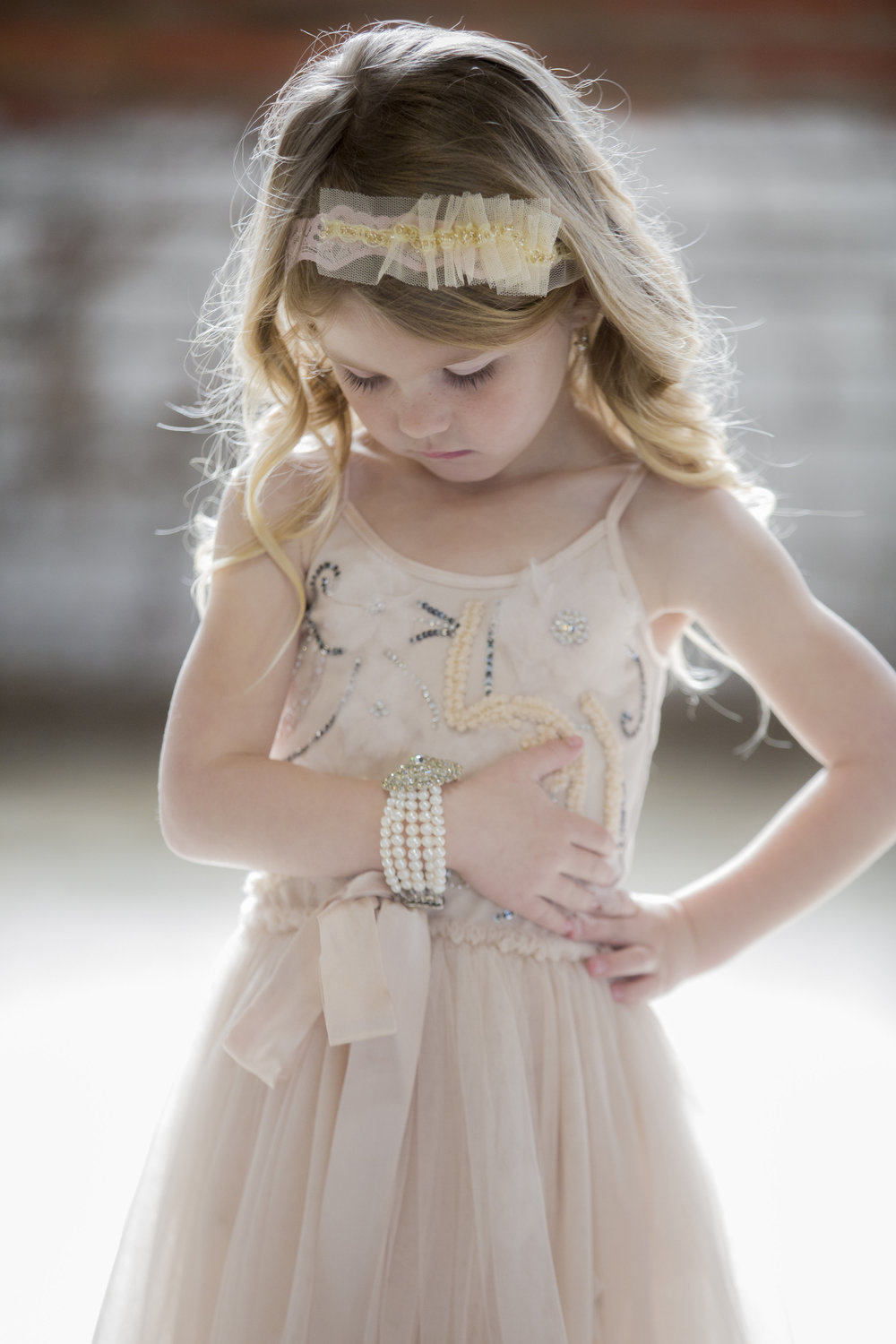 Flower Girl Shoot with Photography by TSM and Everistta Bridal