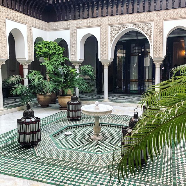 With love from dazzling and buzzing Marrakech...