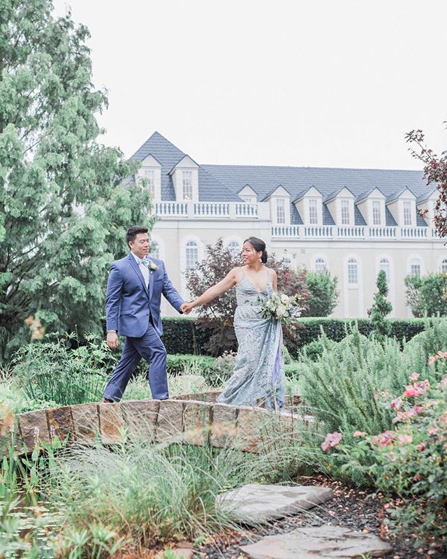 Loving this prettiness we took part in being shared on @southernbrideandgroom today. Thank you! Perfectly pretty to lead us into the holiday weekend. #Repost @southernbrideandgroom ・・・ Dreaming of this blue and copper wedding inspo at @thehallandgardensatlandmark all day every day! 💙 📸: @madeleinecollinsphoto  #sbgvendors  Venue: @thehallandgardensatlandmark  Rentals: @americanpartyrentals  Calligraphy: @blushandbluecalligraphy  Hair & makeup: @perfectionbypatricia  Dessert: @sweetwaterices  Grooms attire: @bernardstux (all vendors tagged in photo!)