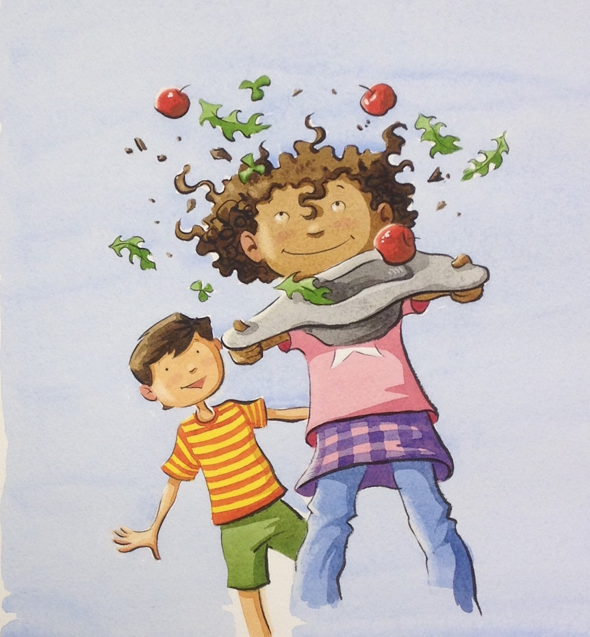 Salad Pie by Wendy BooydeGraaff, illustrated by Bryan Langdo