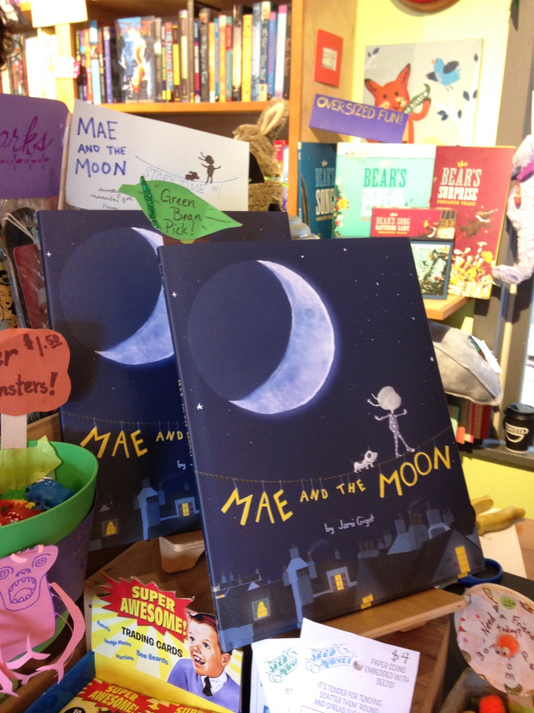 Mae and the Moon at Green Bean Books