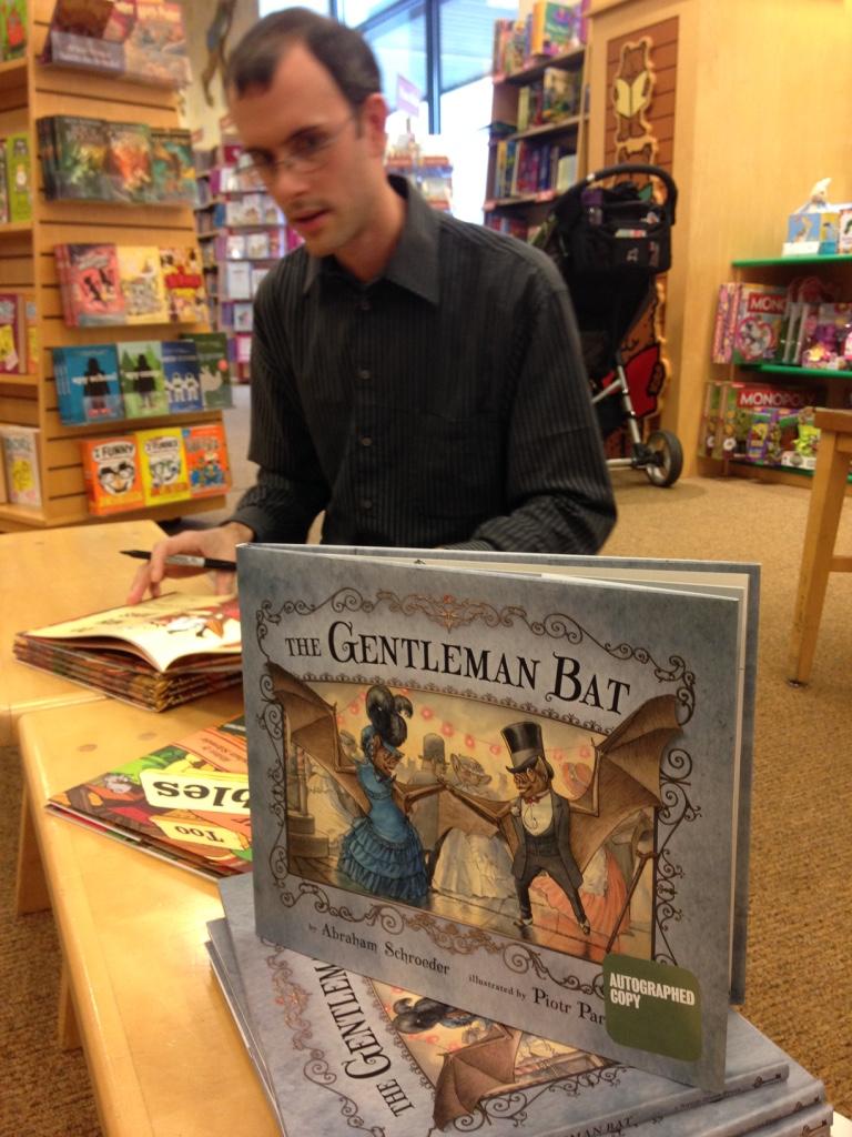 Autographed copy of The Gentleman Bat