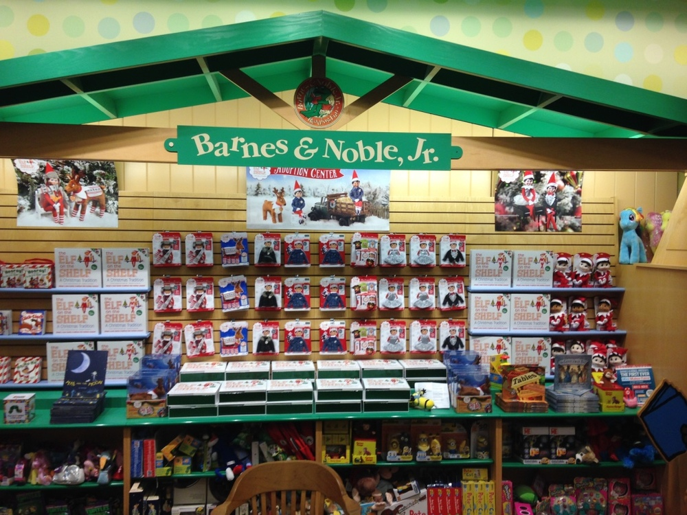 RGP books are Barnes and Noble