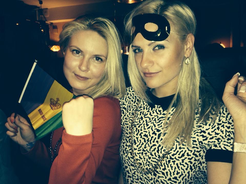 Laura and Justina