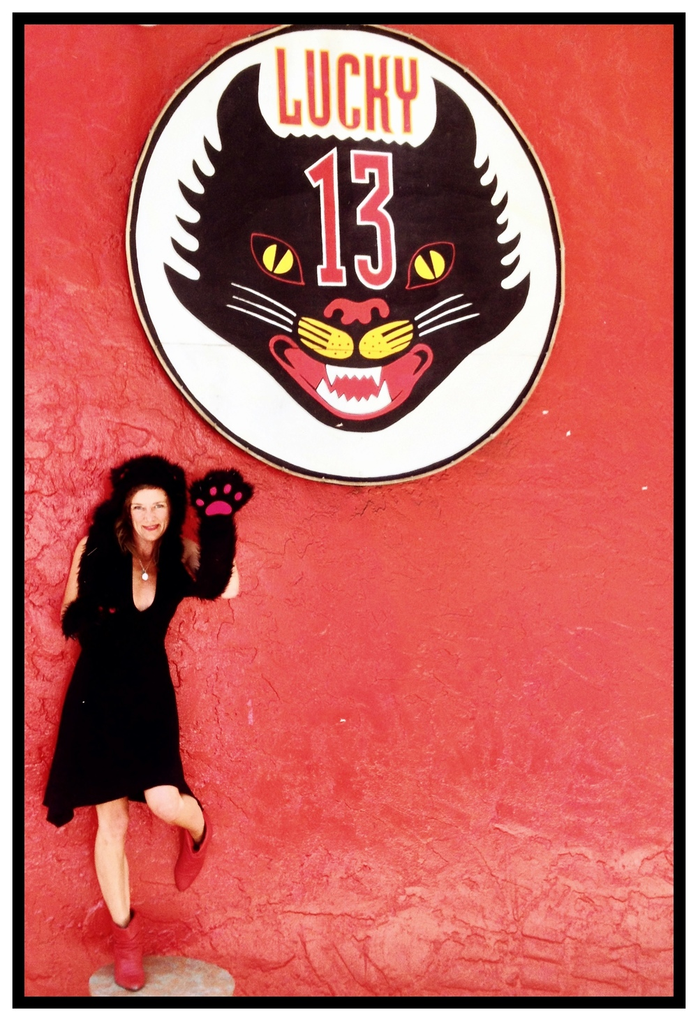 Lucky 13 bar in San Francisco, 2013