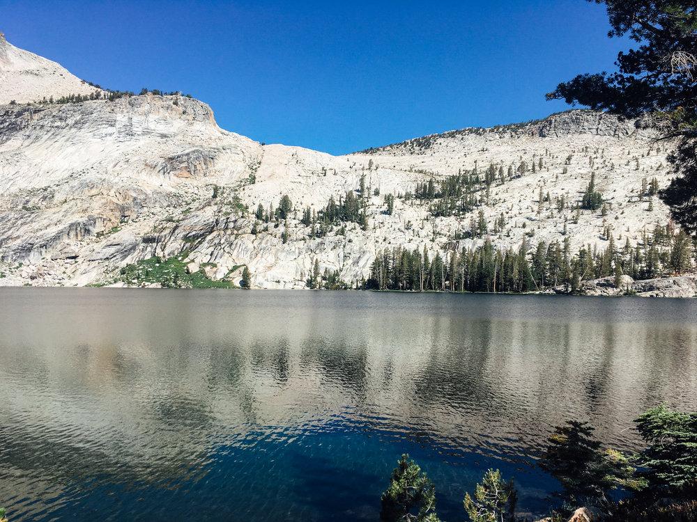Muir Lake. Yosemite.