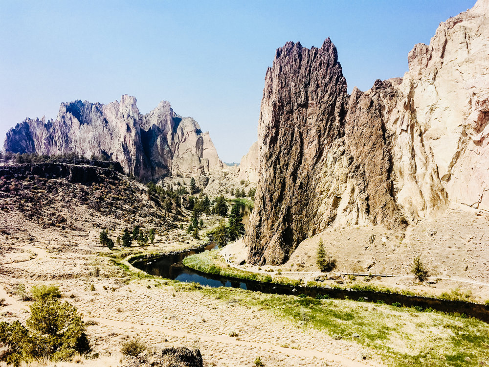 Smith Rock State Park, OR.