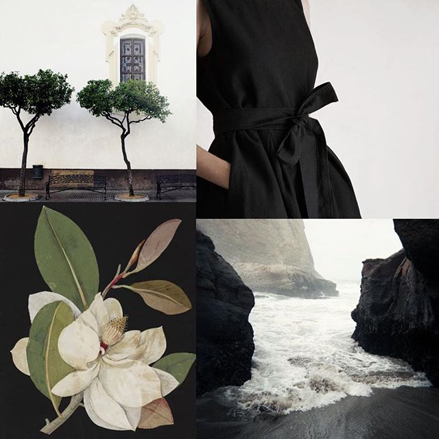 Inhale 3.14 Classic black. . Cleansing the color palette with a little black and white today. (Photo credits on the blog—see link in profile) . . . . #webelieveinbeauty  #inhalebeauty #sproutinhaleseries #weddinginspiration #classicblack