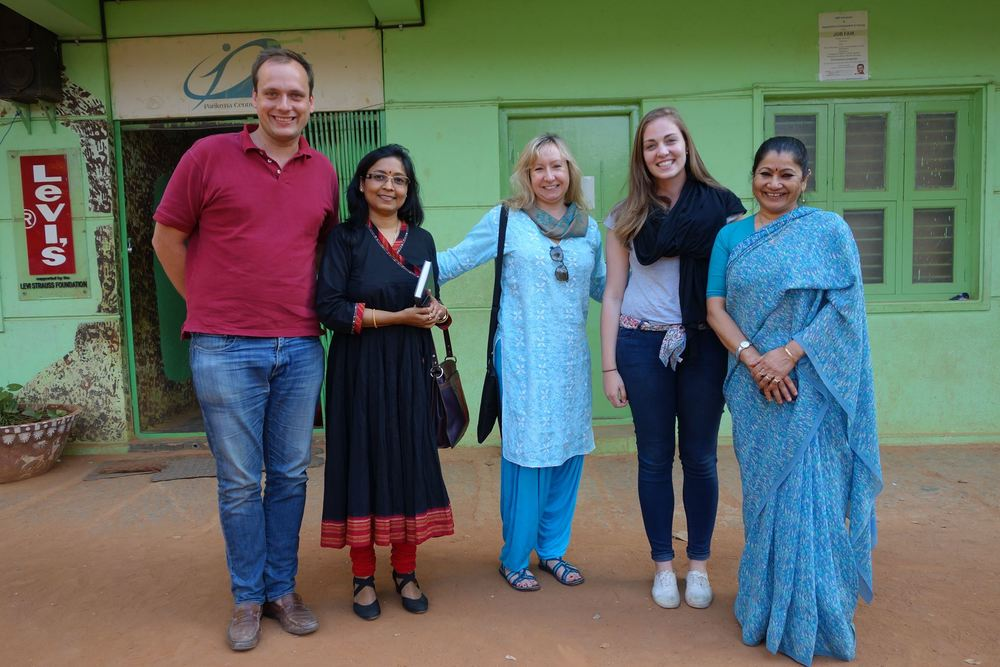 With the Parikrma Foundation in Bangalore, INDIA - January 2014