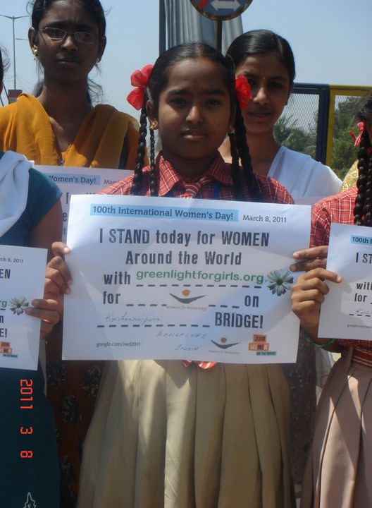 100th International Women's Day in Bangalore, INDIA - March 2011
