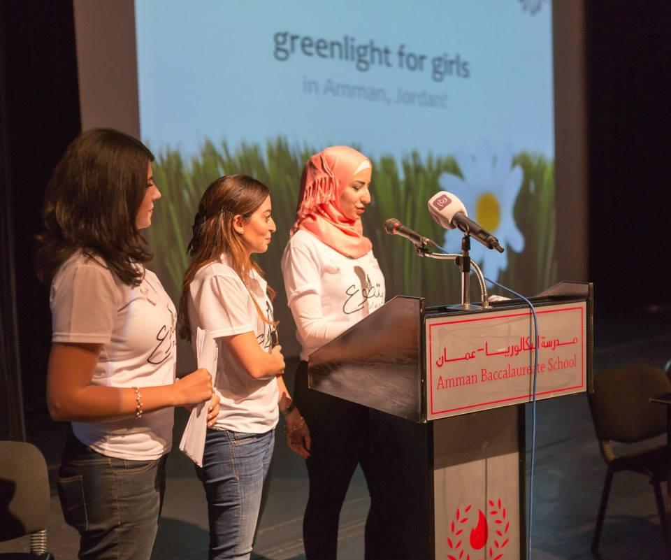 G4g@Jordan 2014: Project Coordinators Rana, Wasan, & Roya
