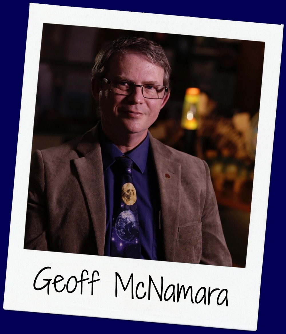 Geoff has a diverse profile – specializing in Science and Astronomy, he is a passionate science teacher & writer, and is currently building the McNamara-Saunders Astronomical Teaching Telescope at Mount Stromlo!