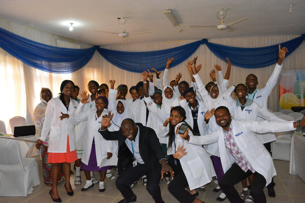Launch g4g Day @Abuja - Oct. 2017    In October, Nokia & g4g, with support from the  Women's Right to Education Programme (WREP)  , organised a very first g4g Day in Abuja, Nigeria. 80 girls experienced an amazing day revolving around STEM.