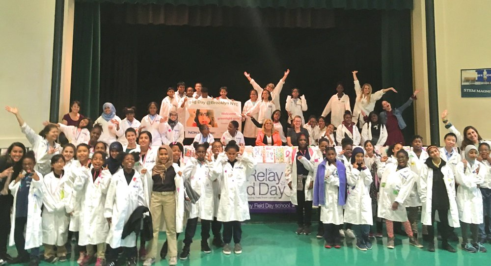 g4g Day @Brooklyn and @Queens Oct. 2017    On October 26 and 27 Nokia and g4g went back to schools! In Brooklyn and in the Queens they hosted two mornings full of hands-on activities and met with 140 girls in STEM