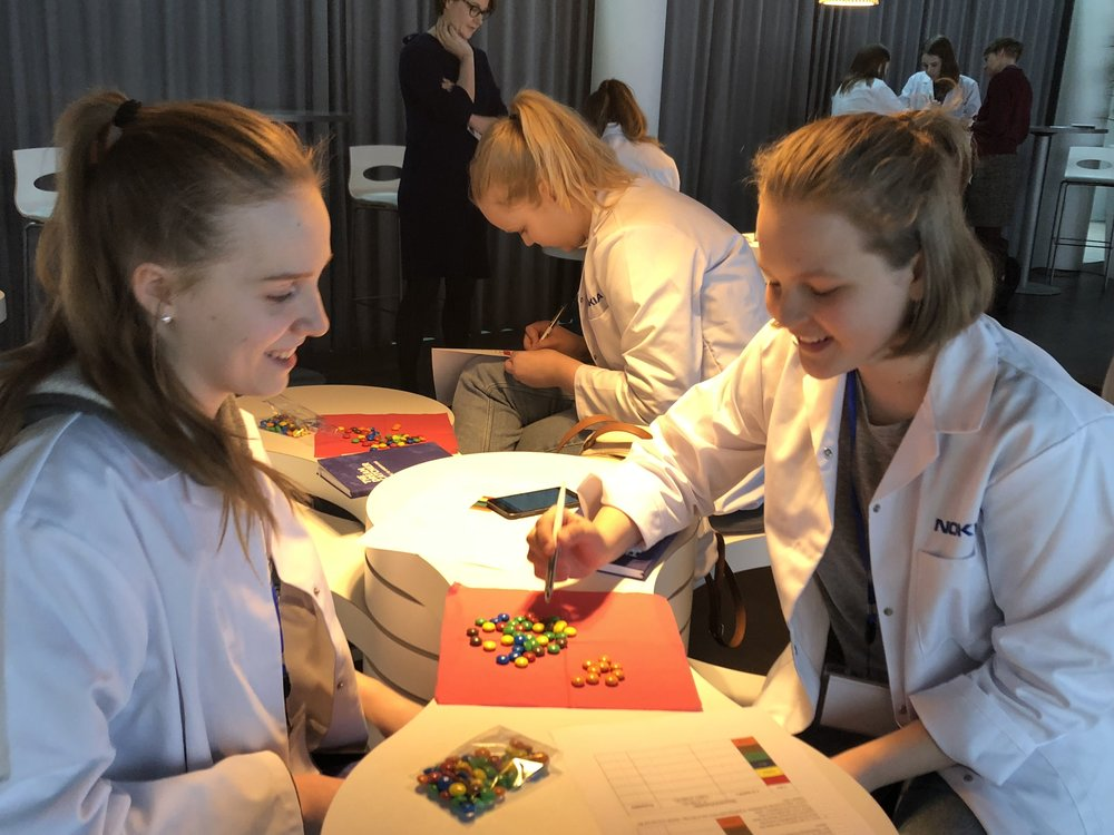 3-city g4g Day @Finland Mar. 2018   Once again, Nokia and g4g partnered up in Finland for three fabulous events in  Espoo ,  Oulu  and  Tampere . We inspired over 400 girls ... and can't wait for 2019!