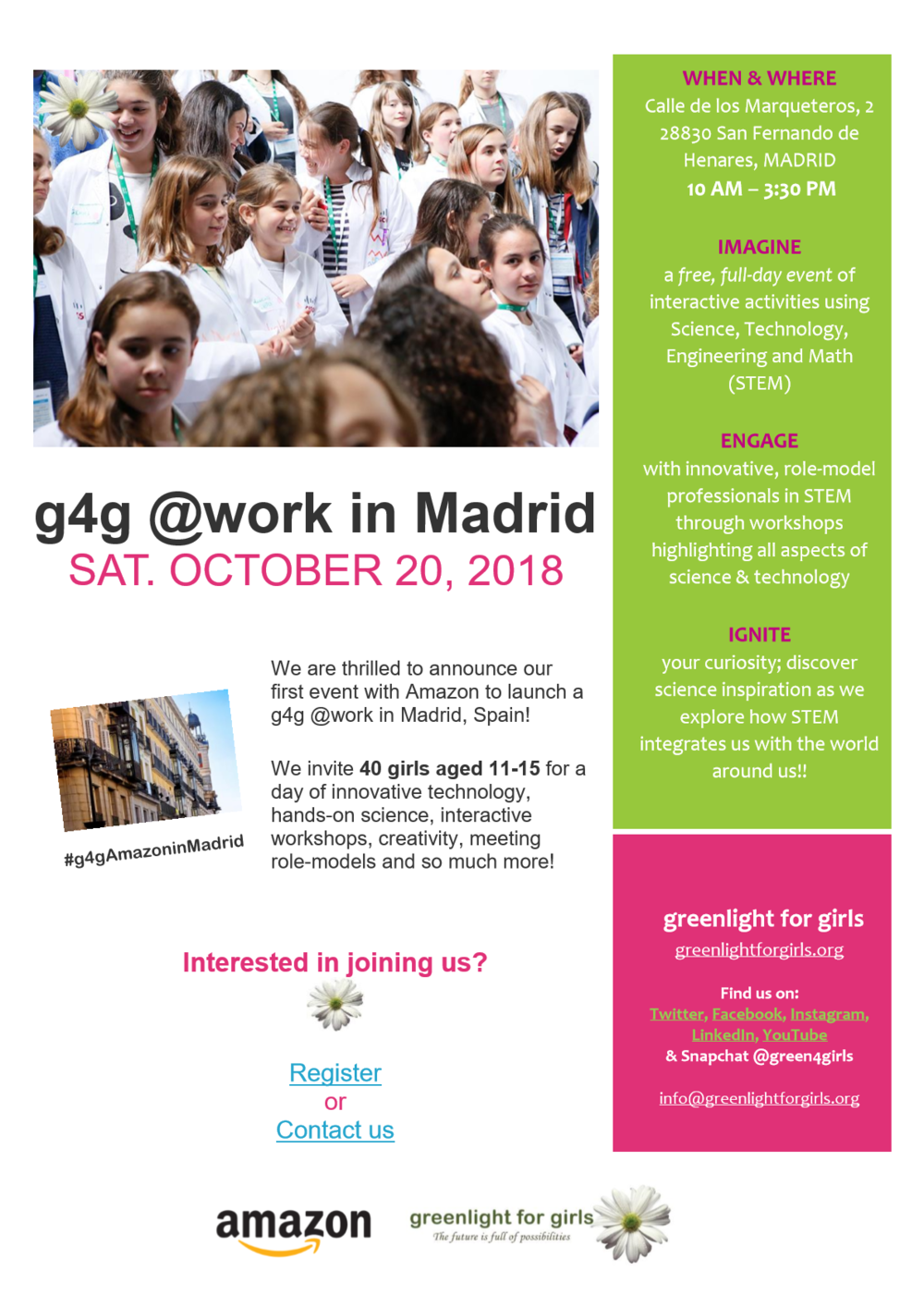 g4g @work in Madrid