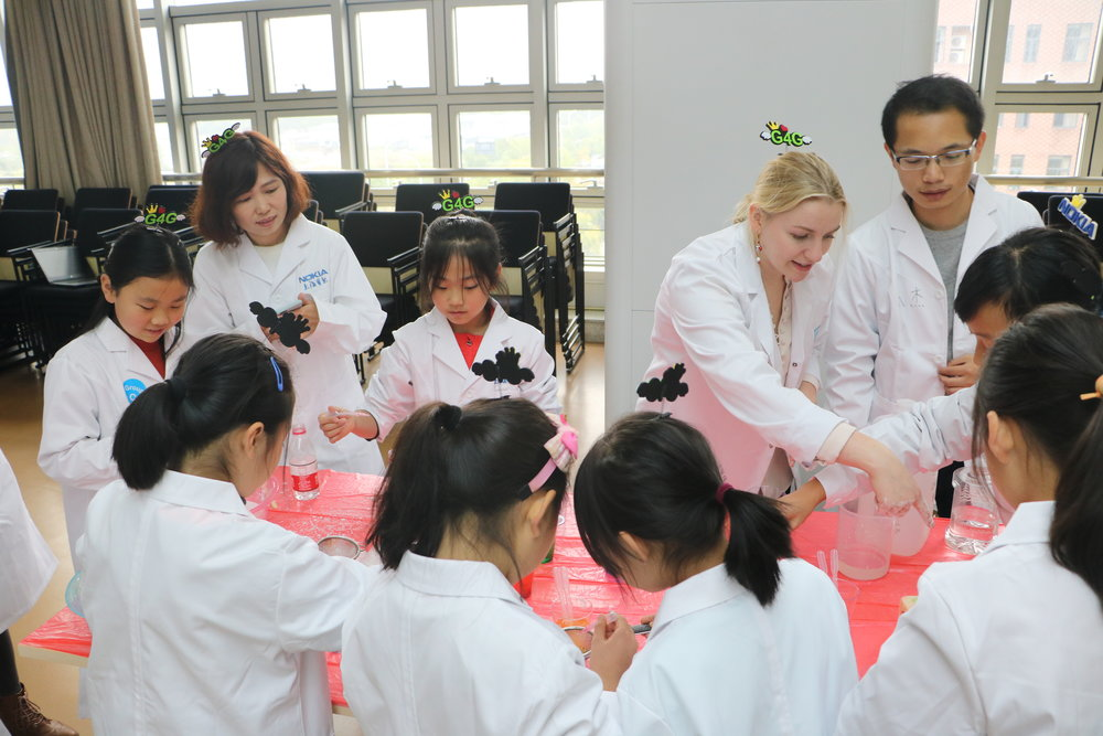 g4g Day @Hangzhou - Nov. 2018    Just a day after our event in Shanghai, we were thrilled to launch our g4g Day in Hanghzhou, where 60 excited girls discovered all the fun in science!