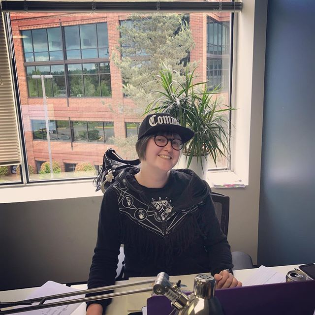 A new hat for Emma our Billing Specialist. Mindful Therapy Group is grateful for all her hard work!