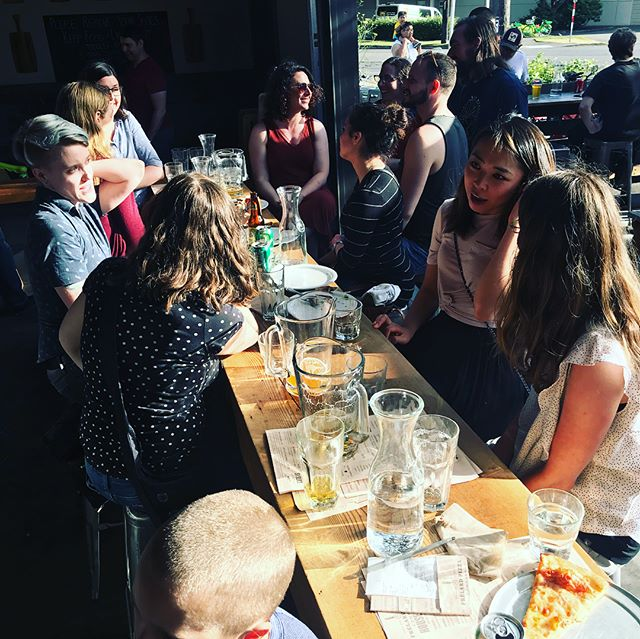 Its a beautiful afternoon in Seattle! We're building a new provider #community in our new neighborhood! #mentalhealth #mentalhealthaccess #fremont #frelard #beerandpizza