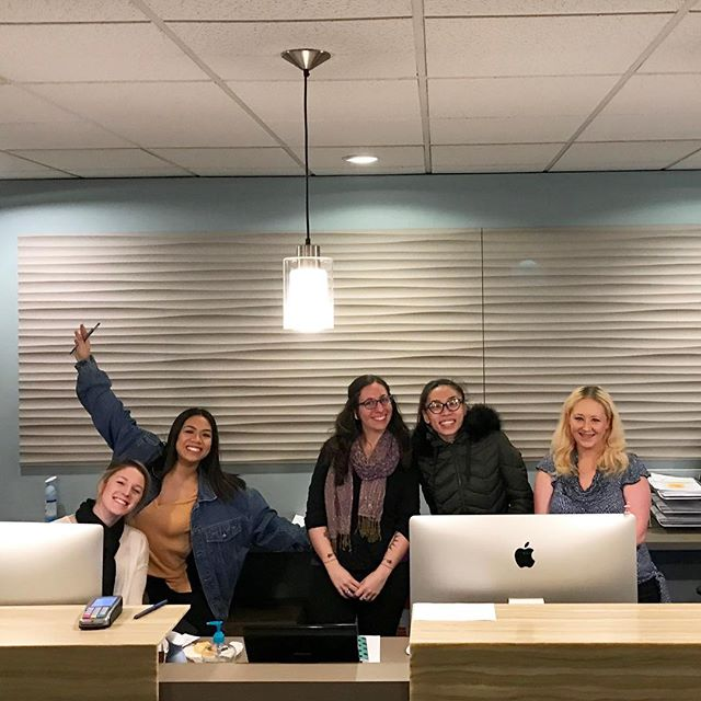 Say hello to our Southcenter team! Our front desk teams are hard at work across all four of our locations: for scheduling, give our intake team a call at 206-708-7274 ext 1!