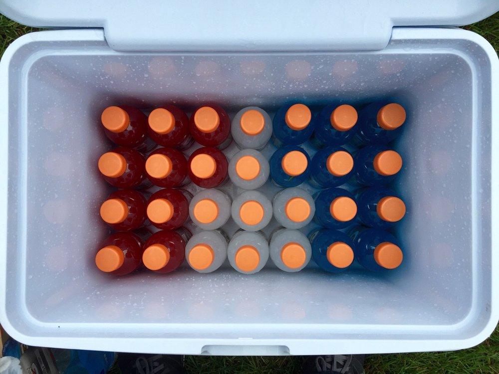 我裝新家的冰箱的排練。