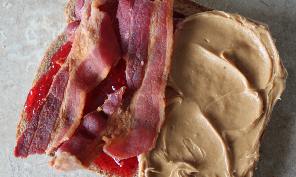 Peanut Butter and Jelly with Bacon and ...