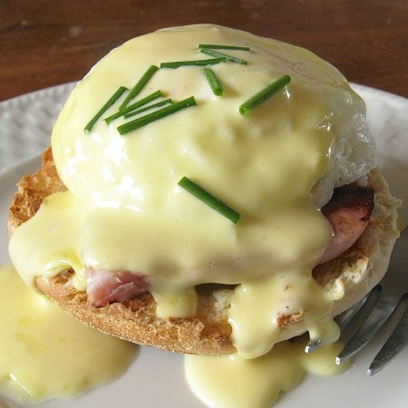Eggs Benedict and Hollandaise Sauce Recipe