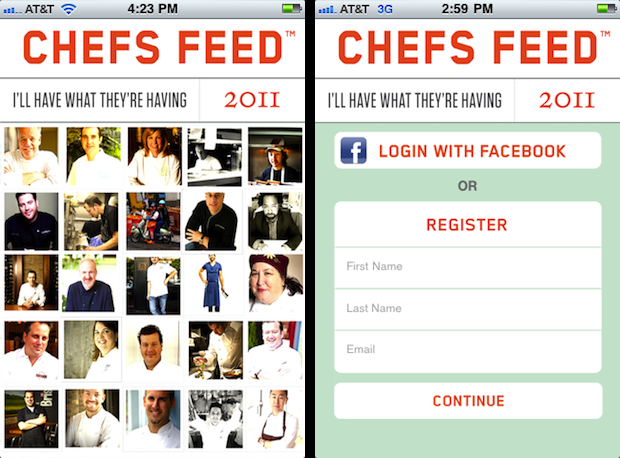 We wish CHEFS (would) FEED us!