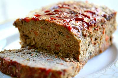BBQ Oatmeal Meatloaf Recipe