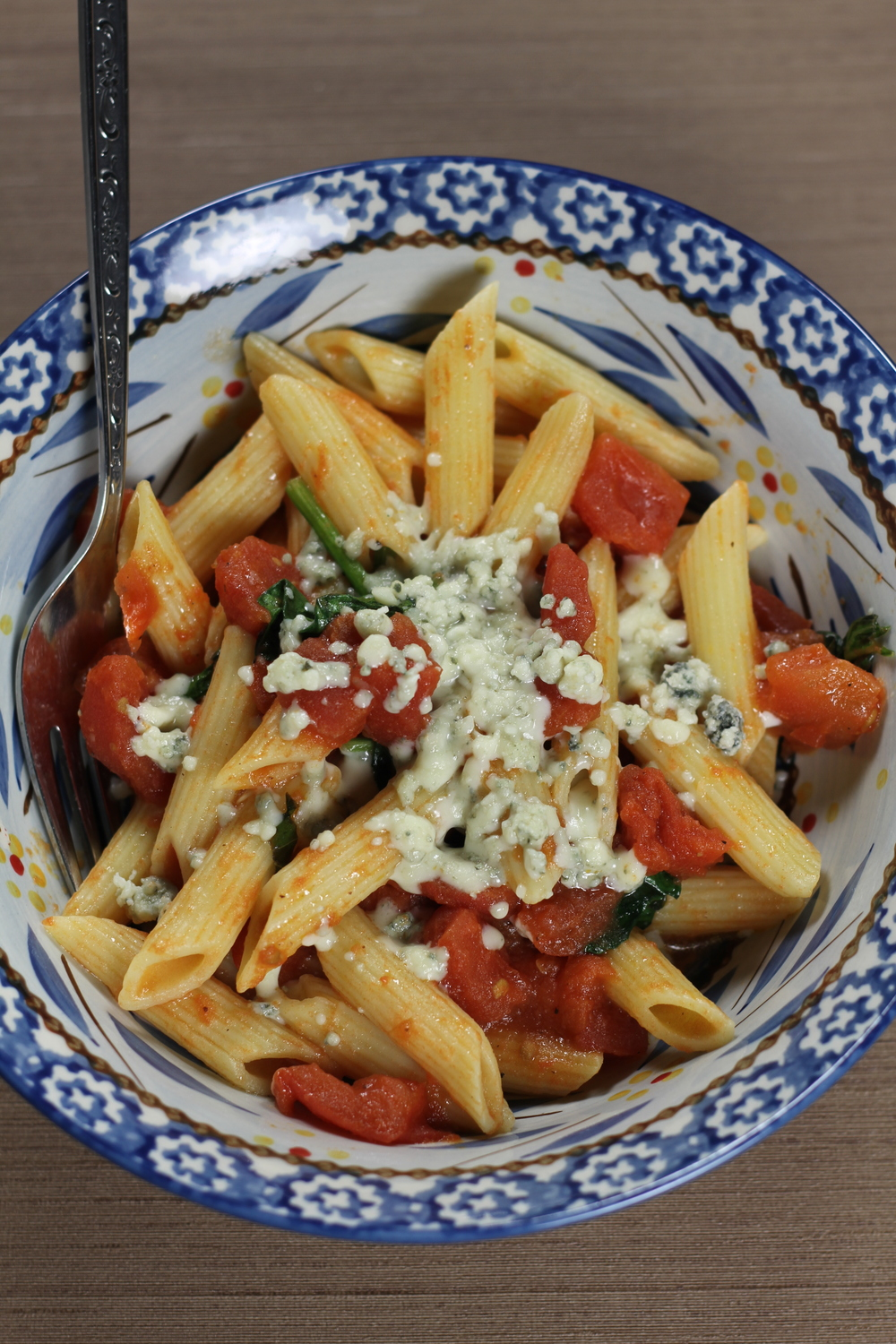 Quick & Simple Recipe: Blue Cheese Pasta
