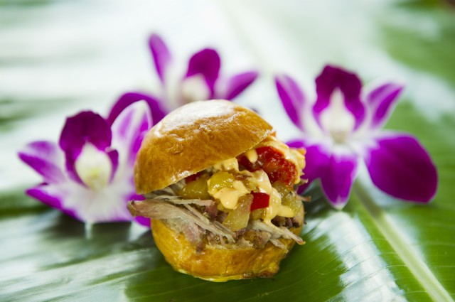 Kalua Pork Sliders at the Epcot Food & Wine Festival