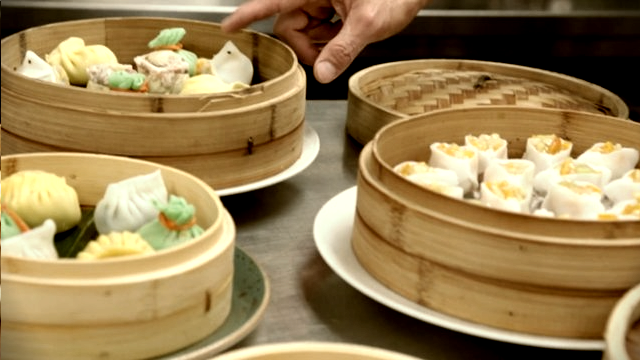 chef ralph scamardella creates fall dim sum for the new york city wine & food festival