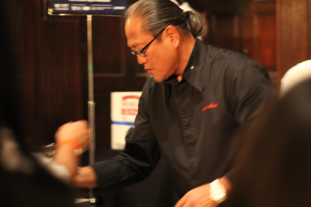 The charismatic Chef Morimoto