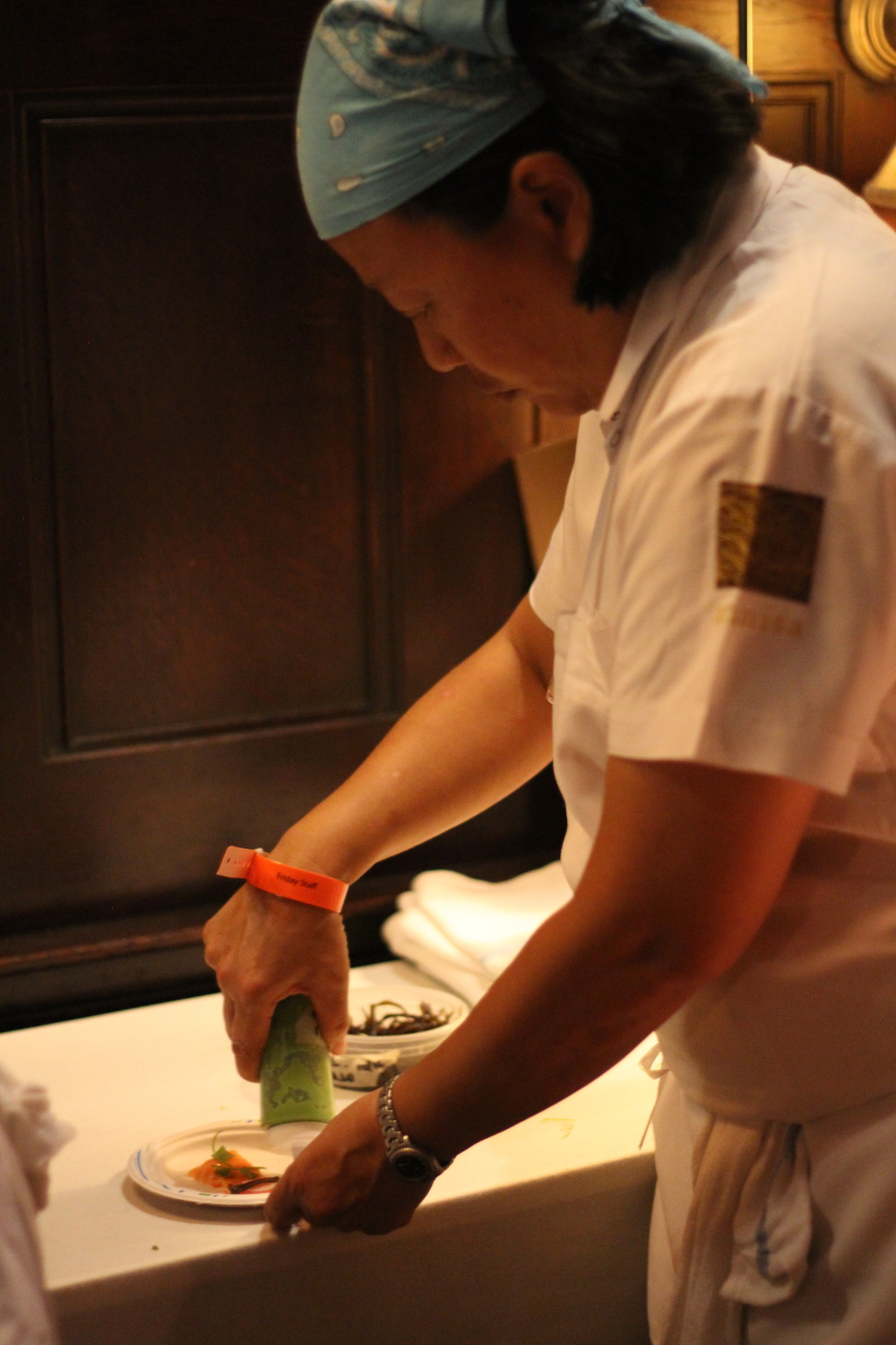 Chef Anita Lo from Annisa restaurant in NYC.