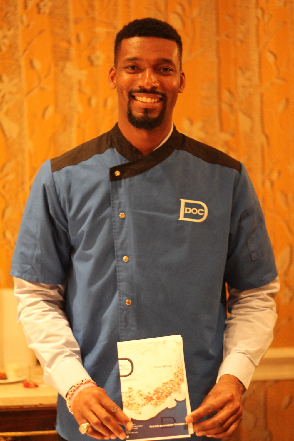 Doc D from Doc D's Southern Desserts in Brooklyn!  www.DocDsDesserts.com