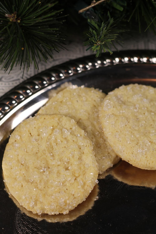 Sparkling Vanilla Sugar Cookies