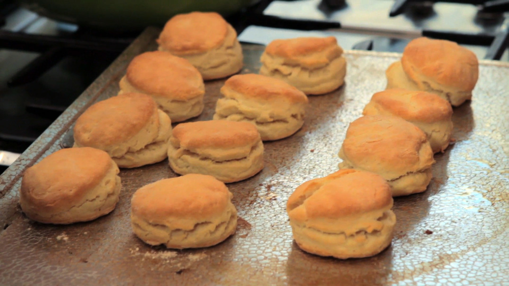 Sabrina's Whipping Cream Biscuits