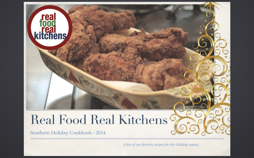 Real Food Real Kitchens Holiday mini-CookBook