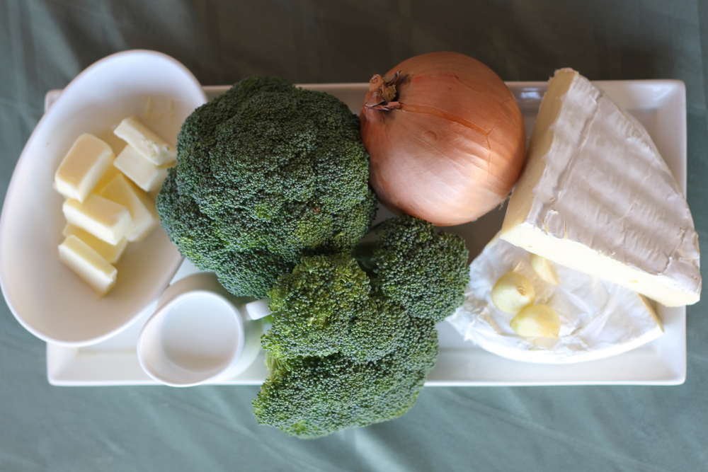 Broccoli Brie Soup