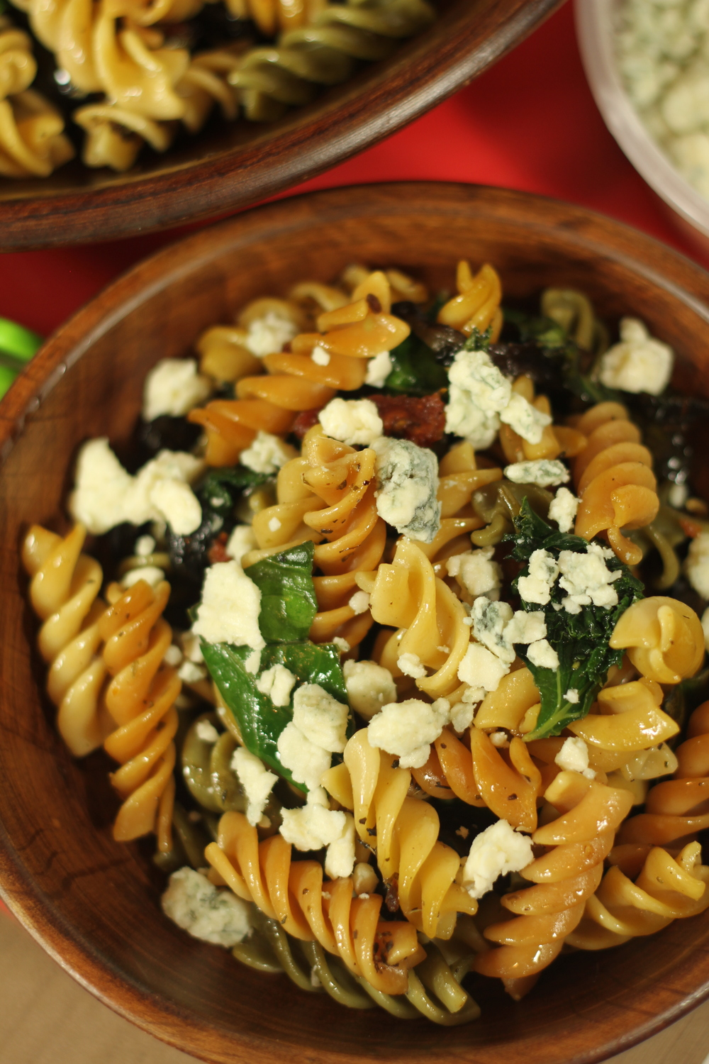 Rotini Pasta with Greens Recipe