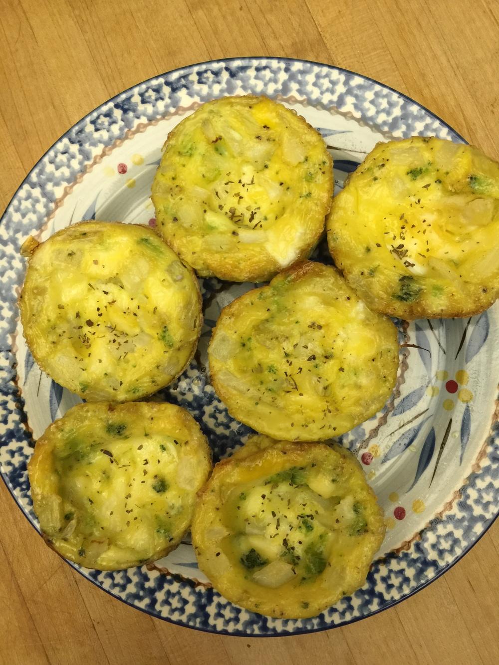Broccoli Frittatas