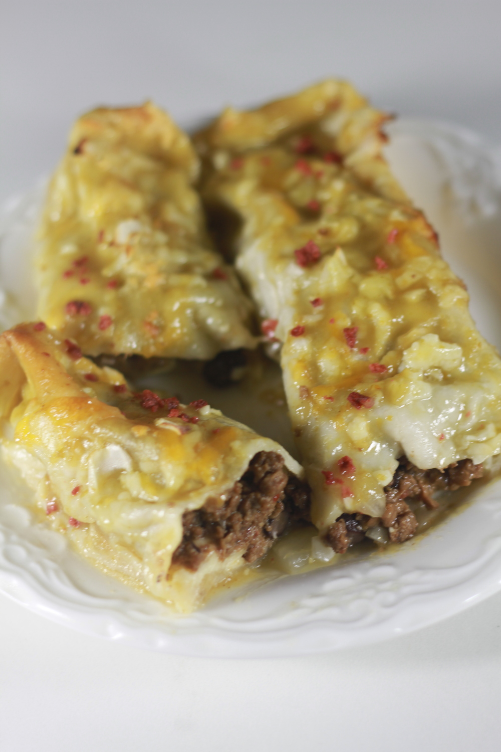 Simple Beef Enchiladas